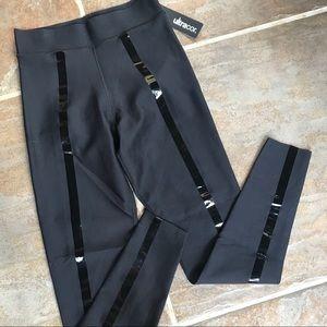 Ultracor High Waist🔥Glossy Stripe Leggings Sz XS